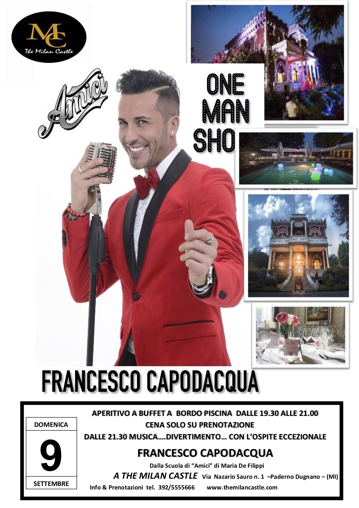 The Milan Castle presenta Francesco Capodacqua